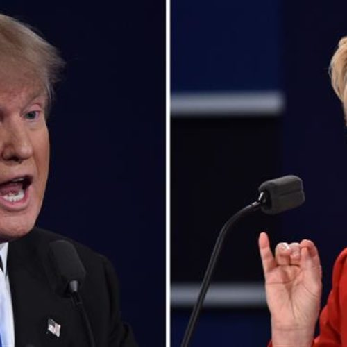 Clinton, Trump set for last debate as ugly race nears finish