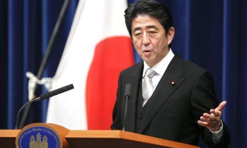 "Japan's PM Shinzō Abe says ""I trust Donald Trump"""